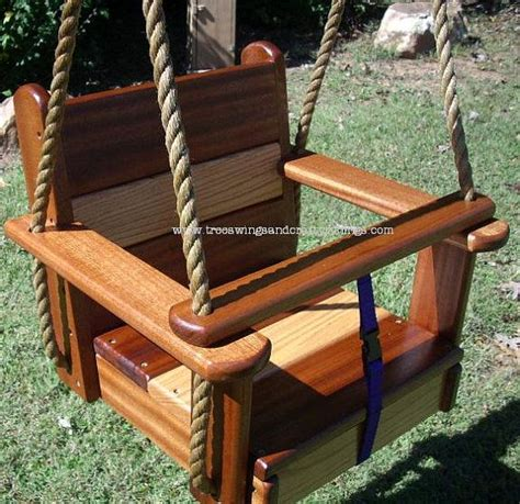 tree swing seat wood tree swing oakipele kids seat swing