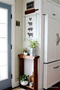 diy kitchen decorating ideas 25 best ideas about small entryway tables on pinterest small entry tables small entry decor