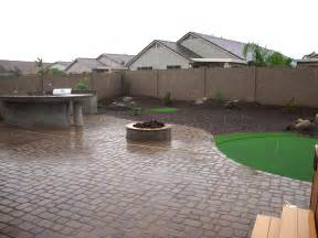 Arizona Backyard Ideas Yard Rev Remodel Arizona Living Landscape