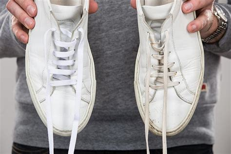 How To Clean A White Leather by How To Clean Your White Leather Sneakers He Spoke Style