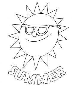 summer reading coloring page 88 coloring pages summer activities preschool