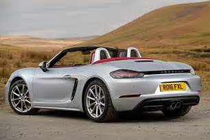 Porsch Boxter New Porsche 718 Boxster 2016 Review Pictures Auto Express