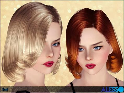 sims 3 females hair my sims 3 blog alesso shell hair for females