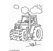 Dibujo De Tractor Para Pintar  Imagui