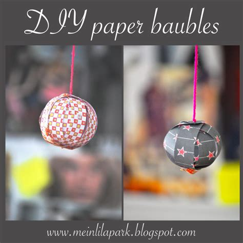 How To Make A Paper Bauble - diy paper baubles and free digital scrapbooking paper