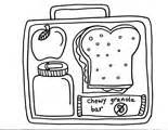 school lunch coloring page lunch box coloring page murderthestout