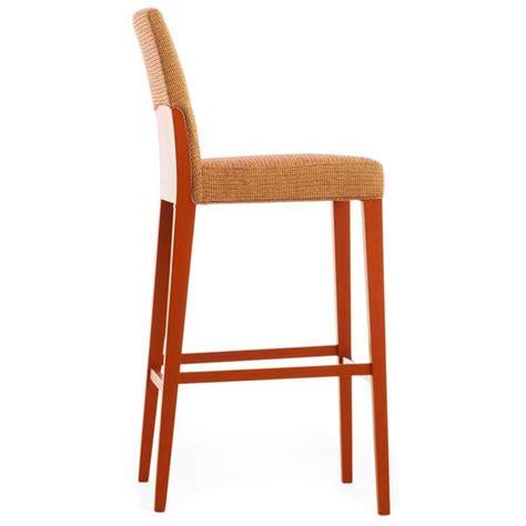 sgabelli imbottiti con schienale sgabello in legno massello con seduta e schienale
