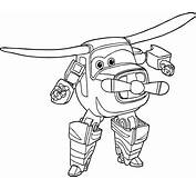Bello Of The Super Wings Coloring Pages