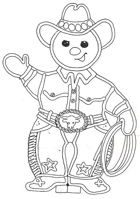 christmas coloring pages gingerbread man buckarroo gingerbread boy reversed