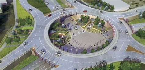 road construction lincoln ne construction to start in 2020 on elevated roundabout in