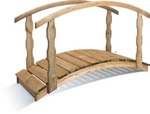 un pont en bois dans mon jardin deco start