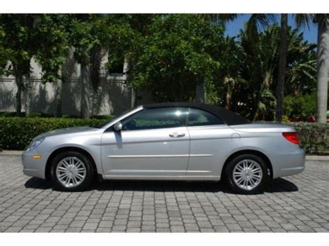 Chrysler Sebring Convertible 2009 by Purchase Used 2009 Chrysler Sebring Touring Convertible 2