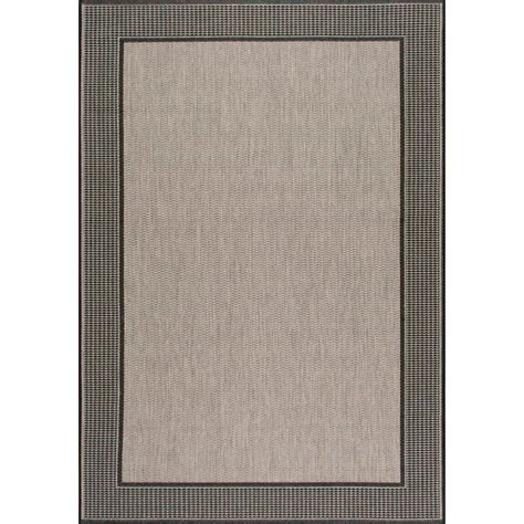 Nuloom Outdoor Rugs Nuloom Gris Gray 5 Ft 11 In X 9 Ft Outdoor Area Rug Owdn05a 51109 The Home Depot