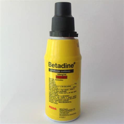 Povidone Iodine by Betadine Povidone Iodine 125ml Aid Antiseptic