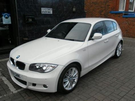 used white bmw 1 series for sale used bmw 1 series 2011 diesel 118d m sport hatchback white