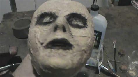 zombie mask tutorial cheap diy zombie mask tutorial youtube