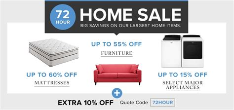 Mr Mattress Discount Code by Hudson S Bay Canada 72 Hour Home Sale Save 60