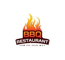 bbq restaurant logo amp business card template the design love