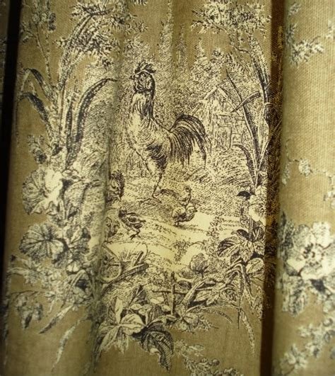 rooster print upholstery fabric rooster print fabric madness pinterest