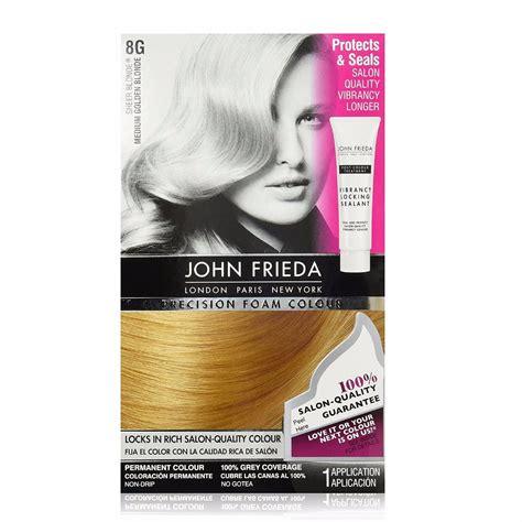 8g hair color frieda precision foam hair color medium golden