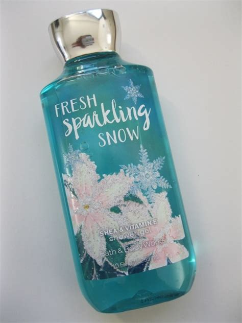 shower gel bath and works bath and works fresh sparkling snow shower gel review
