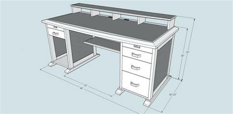 computer desk woodworking plans practices