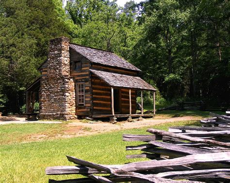 Johns Cabin by Oliver Cabin Photograph By Stan Wikle