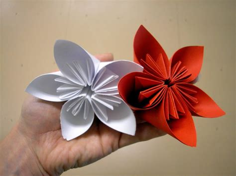 How To Make A Simple Flower Out Of Paper - papiroflexia flores paso a paso im 225 genes y fotos