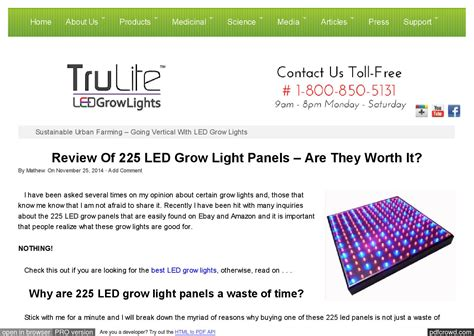 225 led grow light panel review 225 led grow light panel review by trulite led grow lights