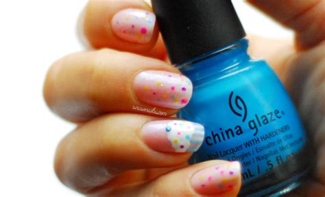 Easiest Nail by Easiest Cutest Birthday Nails Seasonails