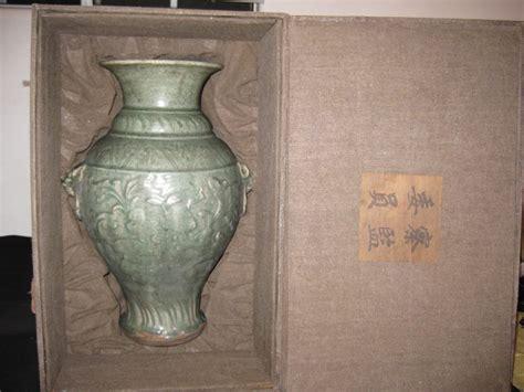Antique Celadon Vases by Antique Porcelain Celadon Glaze Vase Song Dynasty