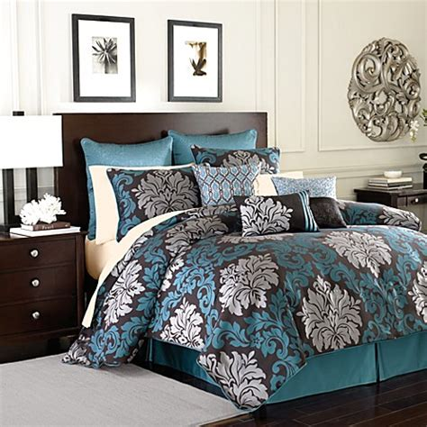 velvet comforter set king royal velvet 174 chamberlain 4 piece comforter set