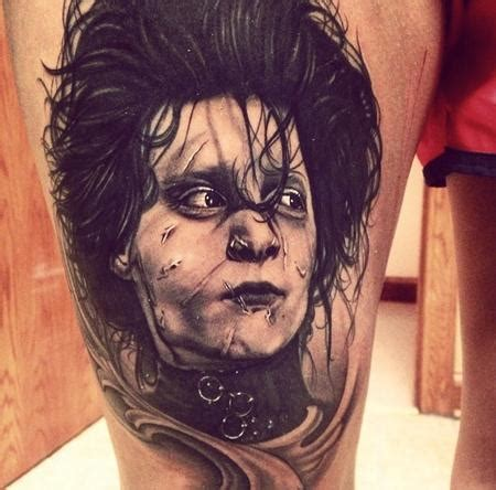 edward scissorhands by max egy tattoos