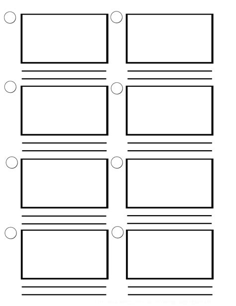 storyboard template word cyberuse