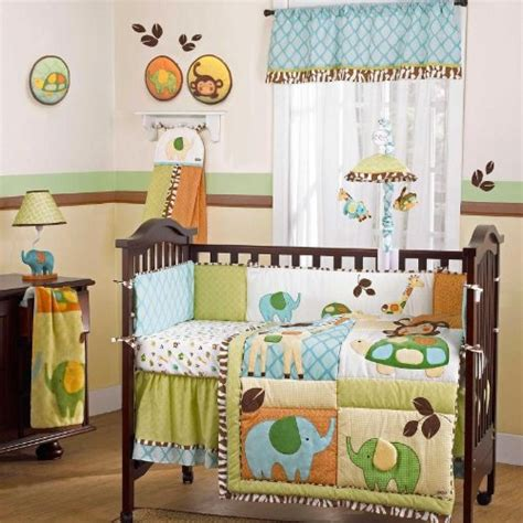 New Listed In The Jungle 9 Piece Baby Crib Bedding Set By Cocalo Crib Bedding