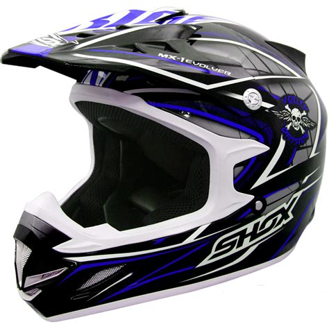motocross crash helmets shox mx 1 evolver off road quad motocross pit bike mx