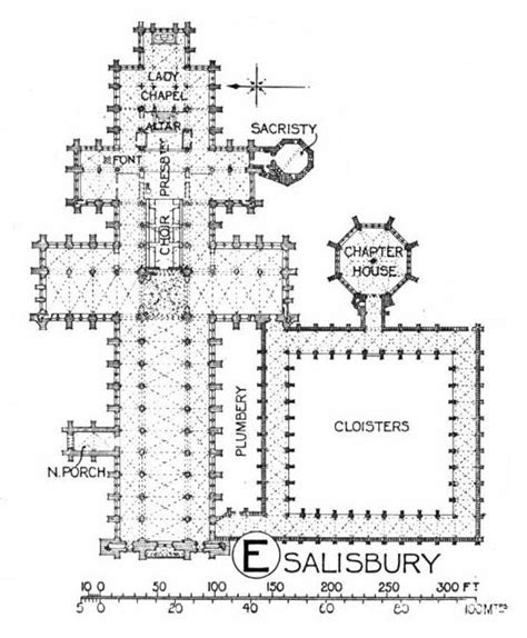 salisbury cathedral floor plan salisbury cathedral