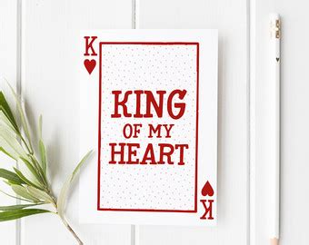 king of the hill valentines cards my king etsy