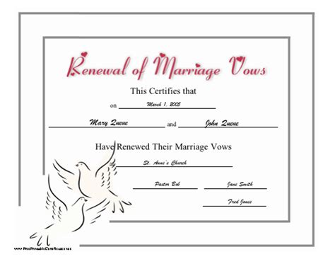 printable marriage certificate template pin printable marriage certificates templates pictures on