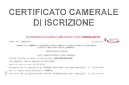 iscrizione alla di commercio costi acquista certificati