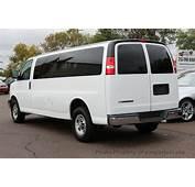 Chevy Express 15 Passenger Van Specs  New &amp Used Car