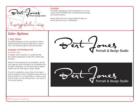graphic design page layout rules brand guidelines