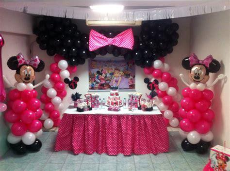 decoracion minnie mouse decoraci 243 n con globos minnie mouse decoraci 243 n cumple de