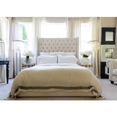 wingback tufted bed cute tufted wingback headboard modern house design