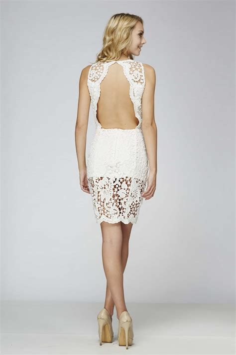 backless lace white backless dress white lace dress alila boutique