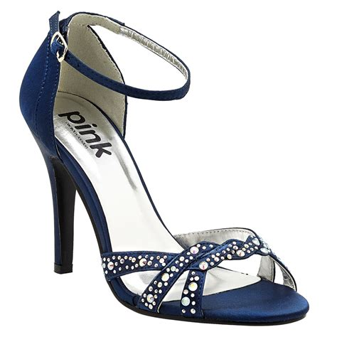 Navy Bridal Heels by Navy Blue Bridal Shoes Paradox Zara Navy Sandals
