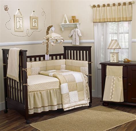 Decor Nursery Decoration Baby Nursery Room Decorating Ideas Brown Crib Wooden Flooring Nursery Room Decor
