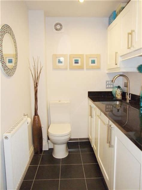 utility bathroom ideas utility room and cloakroom downstairs toilet pinterest