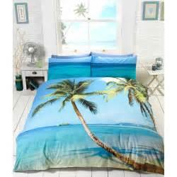 Diy Comforter Cover Summer Tropical Beach Blue Ocean Duvet Cover 3d Effect