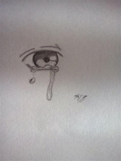 imagenes de ojos llorando para dibujar dibujo ojo anime llorando by belen2000pelusito on deviantart
